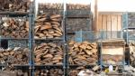 Esgair Forestry timber processing